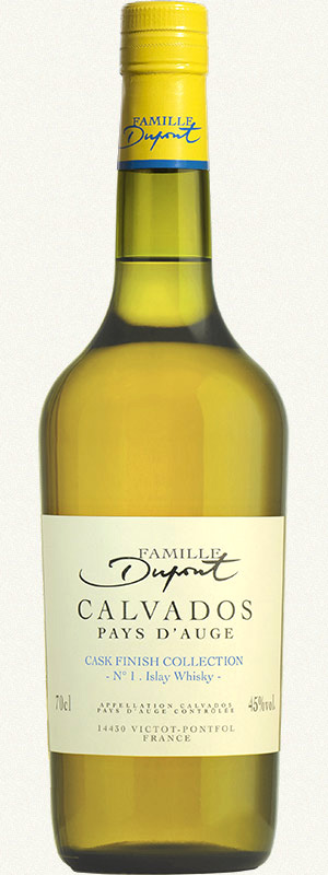 Bottle Domaine Dupont Calvados Cask Finish Islay Whisky