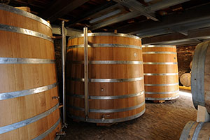 Wooden tuns