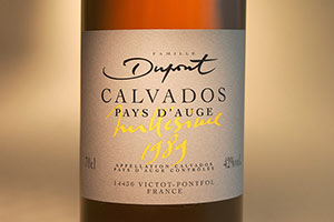 Calvados bottle