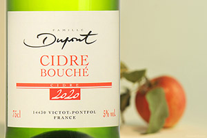 Bottle of Cidre Bouché