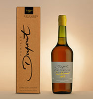 Bottle with box: Calvados 1969