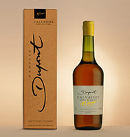 Bottle with box: Calvados 45 years